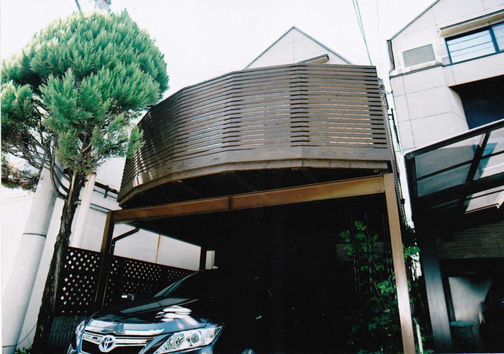 東京都大田区T様邸 多角面の個性的なバルコニースタイリシュデザイン