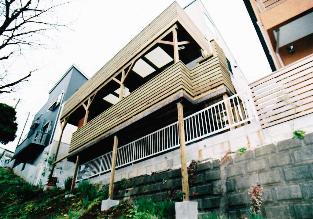 神奈川県港北区N様邸 既存のデッキ構造を利用してオシャレ感プラスアップ