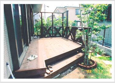 ウッドデッキ施工例008 神奈川県横浜市旭区 T様邸