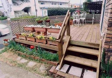 ウッドデッキ施工例021 東京都町田市 M様邸