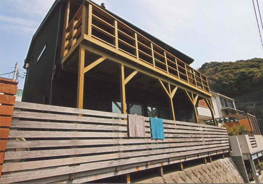 神奈川県鎌倉市Y様邸 今まで以上に広々とした作り勝手の良いバルコニーになりました。