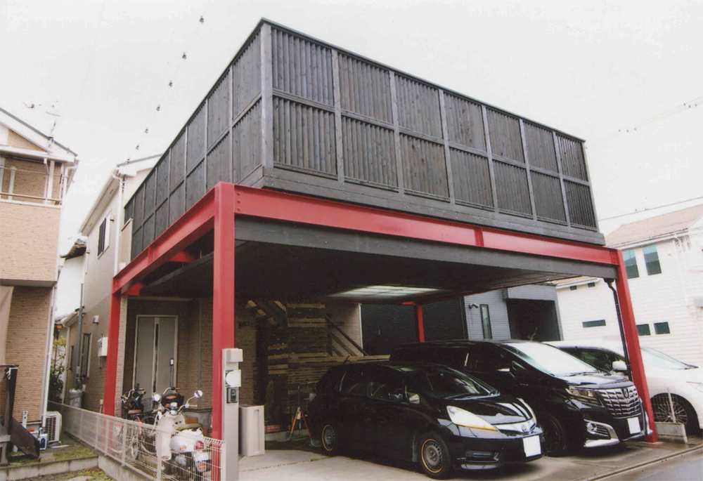 神奈川県平塚市S様邸 カッコいいデッキで毎日が楽しくなるデッキ